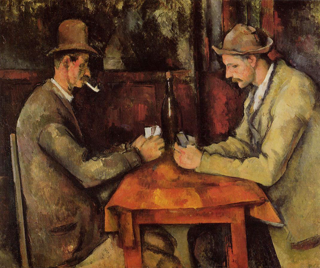 Paul Cézanne: The Card Players 1894–1895, Musée d'Orsay, Paris